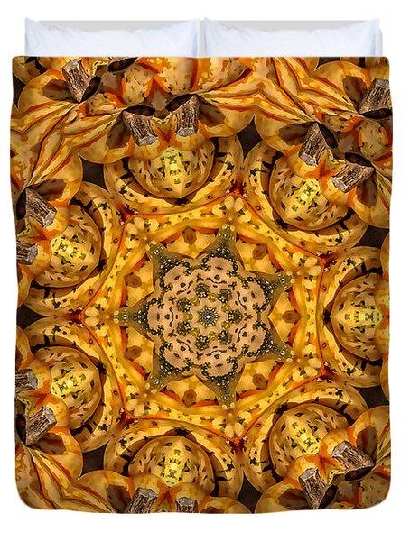 Kaleidoscope No. 1 - Golden Duvet Cover