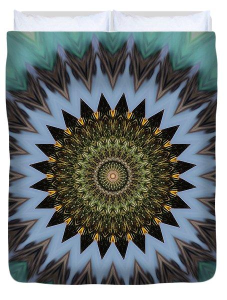 Kaleidoscope O Eleven Duvet Cover