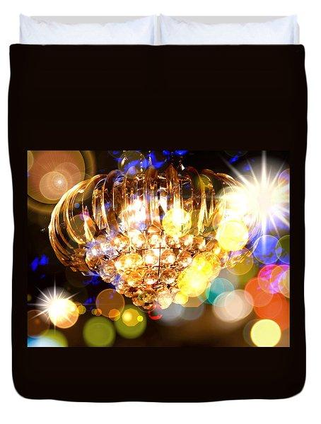 Kaleidoscope Of Light Duvet Cover