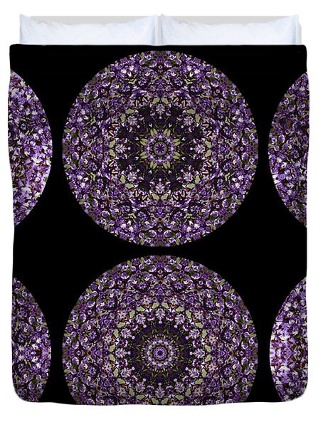 Kaleidoscope Sampler Duvet Cover by Teresa Mucha