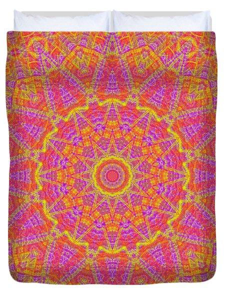 Kaleidoscopic Volpiana 1  Duvet Cover