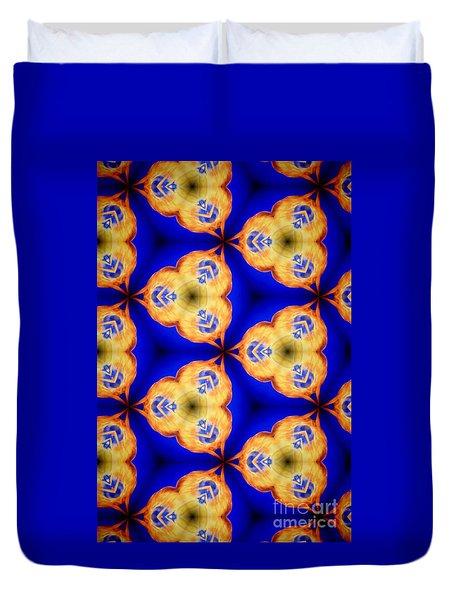 Kaleidoscope II Duvet Cover