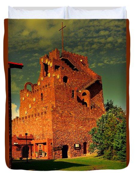 Kalkow-golgotha Of East Duvet Cover