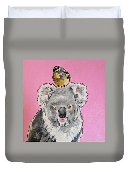 Kalman The Koala Duvet Cover