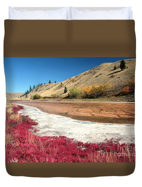 Kamloops Autumn Duvet Cover