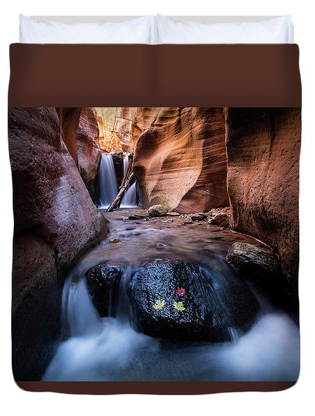 Kanarra Creek Duvet Cover