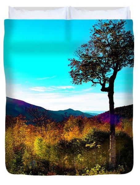 Kancamagus Sunset Duvet Cover
