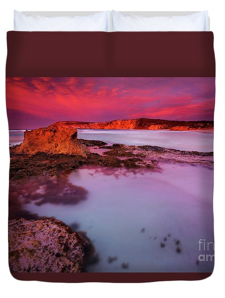 Kangaroo Island Dawn Duvet Cover