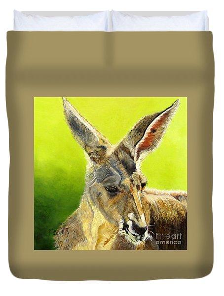 Kangeroo Duvet Cover