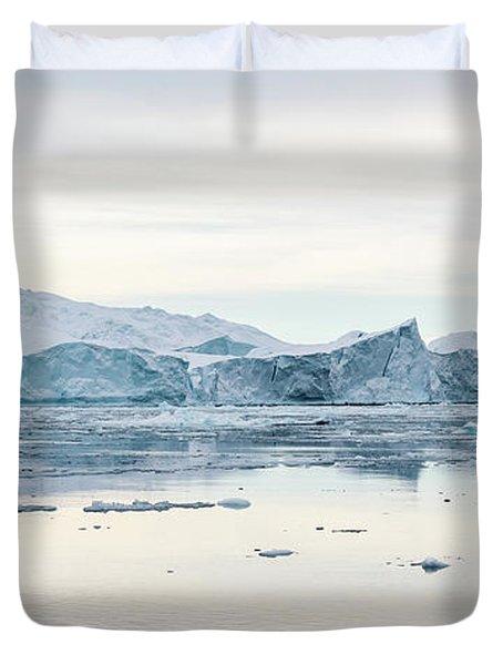 Kangia Icefjord Duvet Cover