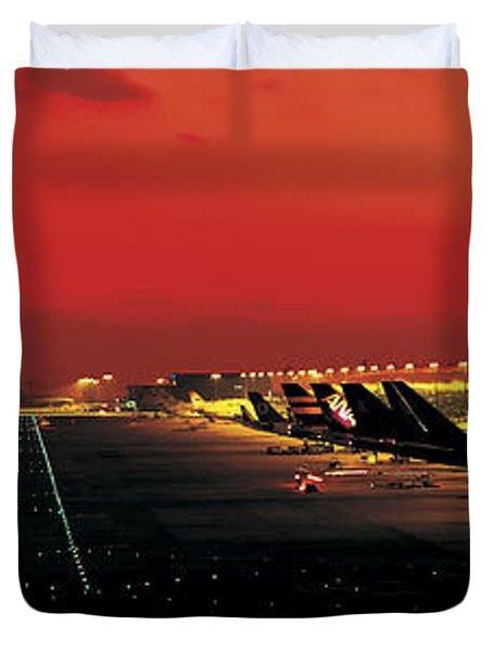 Kansai International Airport Osaka Japan Duvet Cover