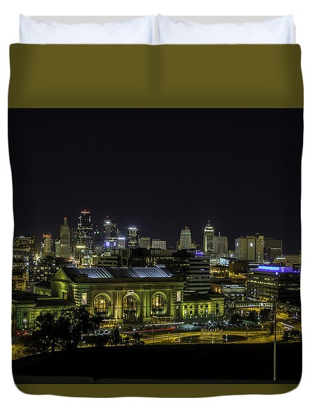 Kansas City Mo Duvet Cover
