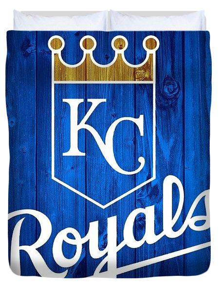Kansas City Royals Barn Door Duvet Cover