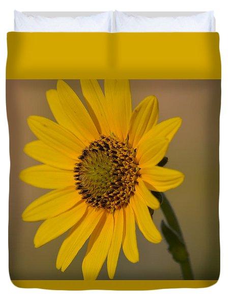 Kansas Flower One Duvet Cover by Carolina Liechtenstein
