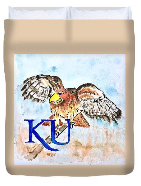 Kansas Jayhawks Duvet Cover