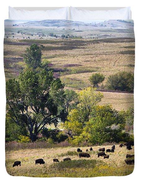 Kansas Plains  Duvet Cover