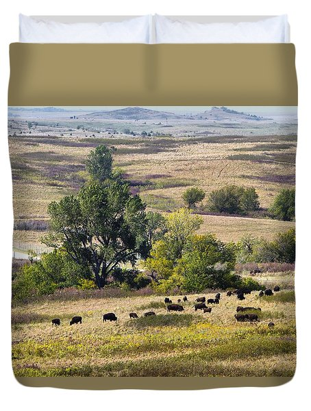 Kansas Plains  Duvet Cover by Betty Pauwels