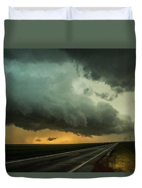 Kansas Storm Chase Bust Day 004 Duvet Cover