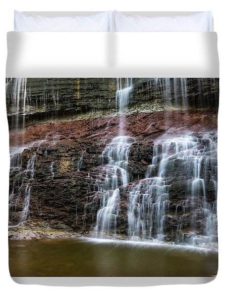 Kansas Waterfall 3 Duvet Cover