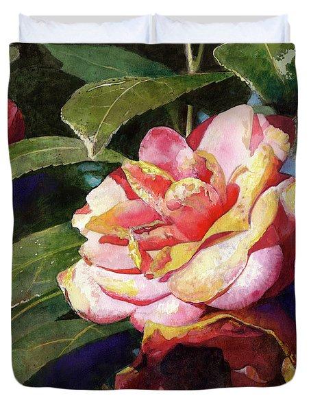 Karma Camellia Duvet Cover