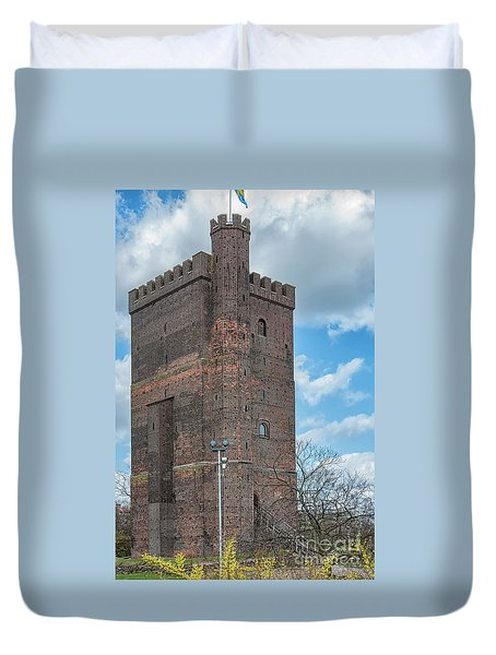 Duvet Cover featuring the photograph Karnan In Helsingborg by Antony McAulay