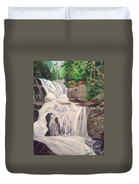 Katahdin Falls Duvet Cover