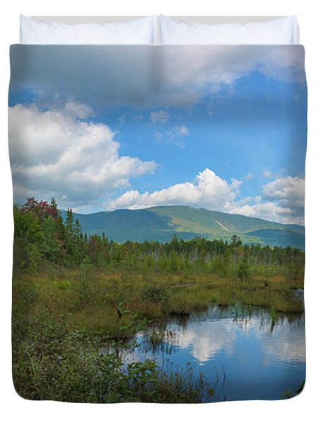 Katahdin In The Clouds Duvet Cover