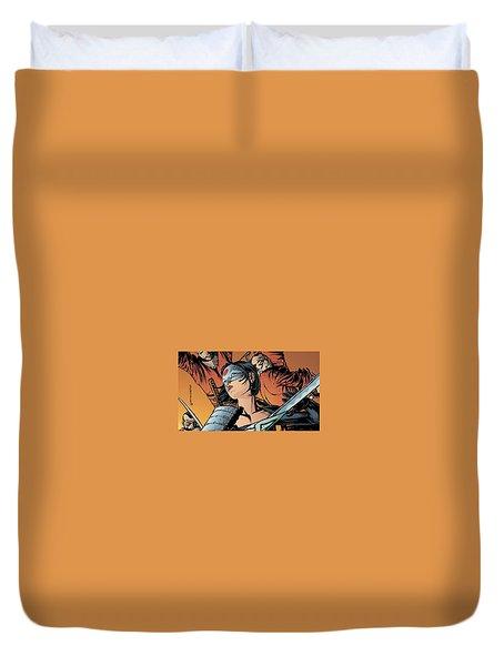 Katana Duvet Cover