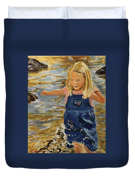 Kate Splashing Duvet Cover