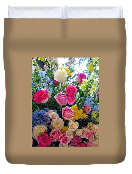 Kate's Flowers Duvet Cover