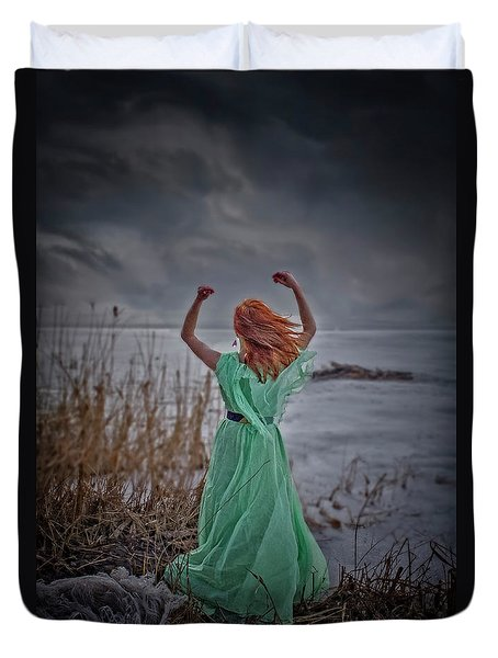 Katharsis Series 3/3 Release Duvet Cover