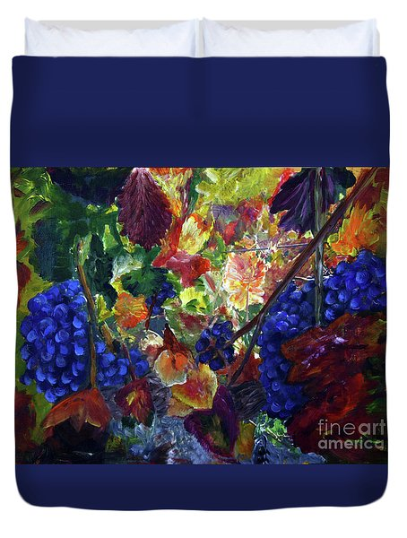 Katy's Grapes Duvet Cover