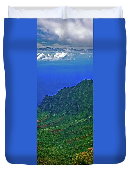 Kauai  Napali Coast State Wilderness Park Duvet Cover