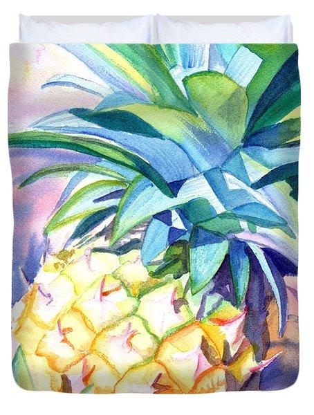 Kauai Pineapple 3 Duvet Cover