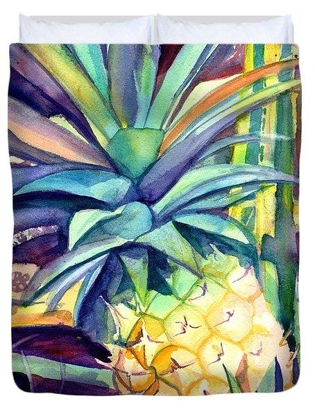 Kauai Pineapple 4 Duvet Cover