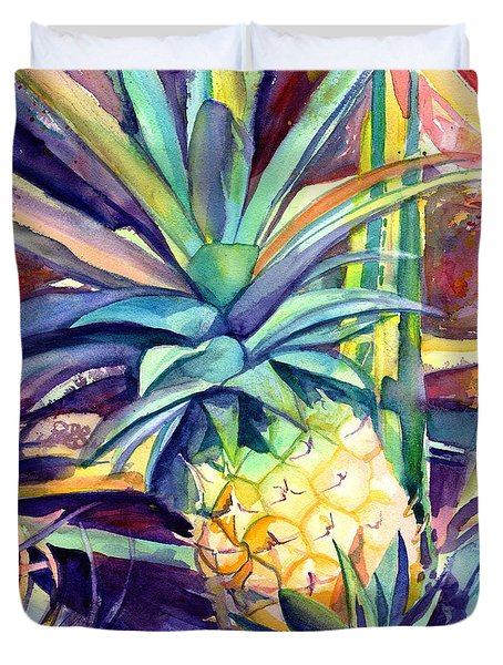 Kauai Pineapple 4 Duvet Cover