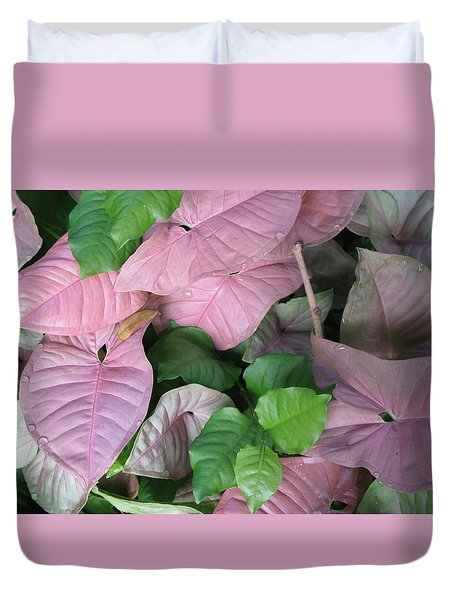 Kauai  Pinks Duvet Cover by Carol Sweetwood