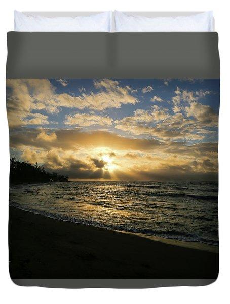 Kauai Sunrise Duvet Cover