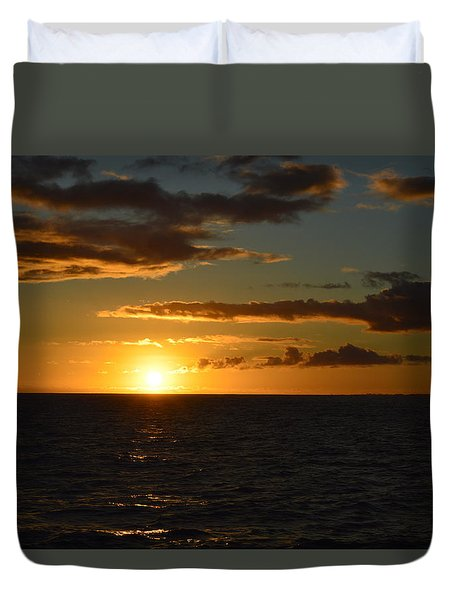 Kauai Sunset Duvet Cover