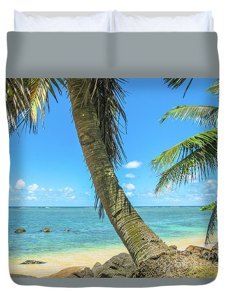Kauai Tropical Beach Duvet Cover