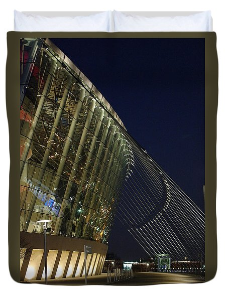 Kauffman Center For The Performing Arts Duvet Cover