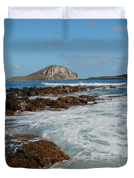 Kaupo Beach Duvet Cover by Michael Peychich