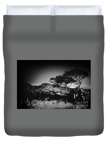 Kaupo Gap East Maui Hawaii Duvet Cover by Sharon Mau