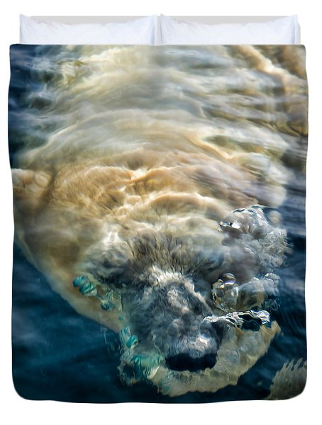 Duvet Cover featuring the photograph Kavek by Lana Trussell