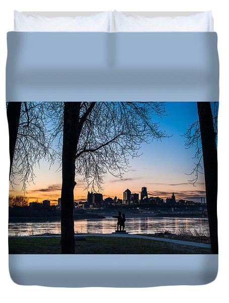 Kaw Point Park Duvet Cover