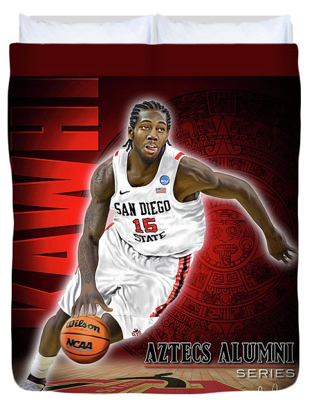 Duvet Cover featuring the photograph Kawhi by Don Olea