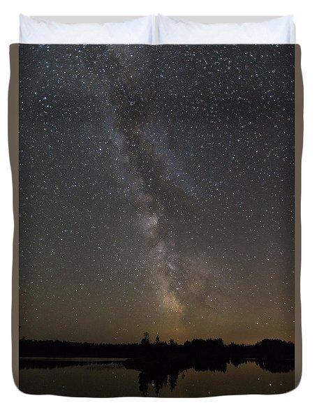 Kawishiwi Milky Way Duvet Cover