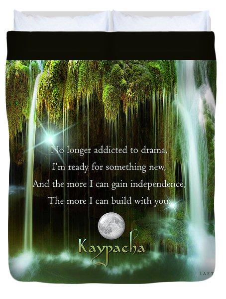 Kaypacha - November 10, 2016 Duvet Cover
