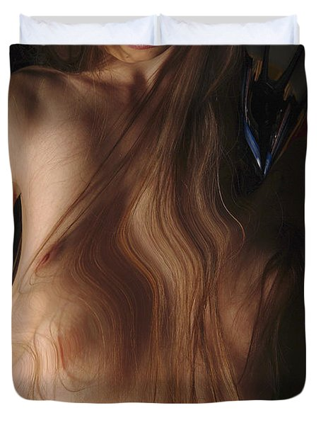 Kazi0840 Duvet Cover by Henry Butz