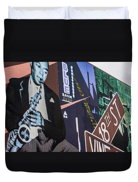 Kc Mural 1 Duvet Cover by Pamela Williams